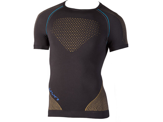 UYN Multisport Evolutyion UW Chemise manches courtes Homme, charcoal/gold/atlantic
